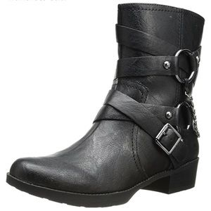 Jessica Simpson Moto Leather Ankle boots
